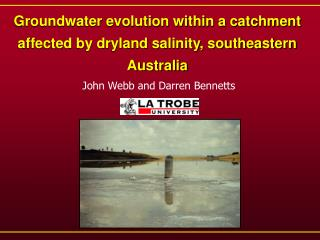 Groundwater evolution within a catchment affected by dryland salinity, southeastern Australia