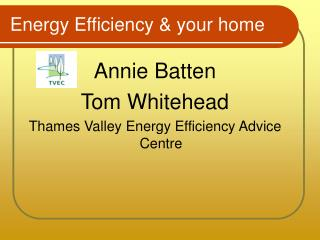 Energy Efficiency  your home