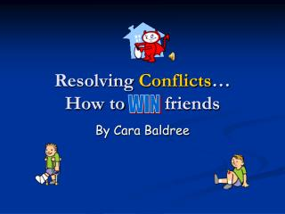 Resolving Conflicts  How to     friends