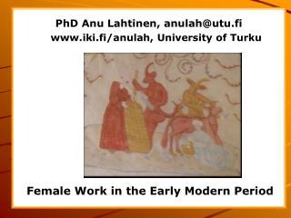 Naistoimijuuden pilkahduksia Ruotsin keskiaikaisessa aatelistaloudessa