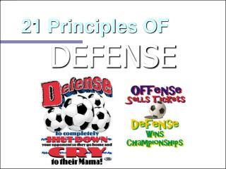 21 Principles OF