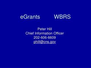 EGrants         WBRS