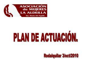 PLAN DE ACTUACI N.