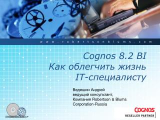 Cognos 8.2 BI     IT-