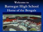Welcome to  Barnegat High School Home of the Bengals