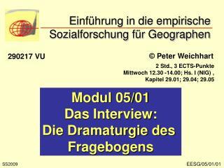Einf hrung in die empirische Sozialforschung f r Geographen
