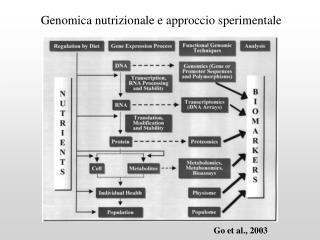 Genomica nutrizionale e approccio sperimentale