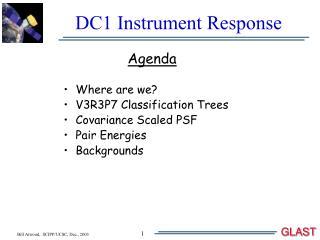 DC1 Instrument Response