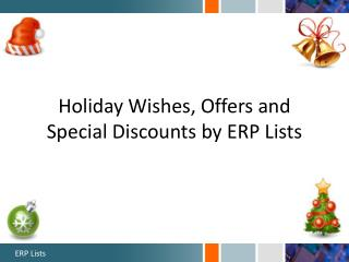 Holiday Wishes by ERP Lists