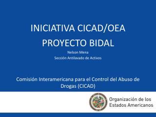 Comisi n Interamericana para el Control del Abuso de Drogas CICAD