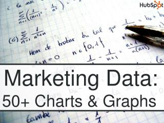 Marketing Data:      50 Charts  Graphs