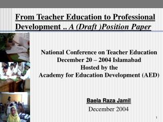 Baela Raza Jamil December 2004