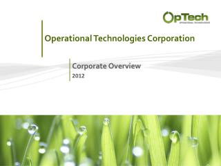 Operational Technologies Corporation