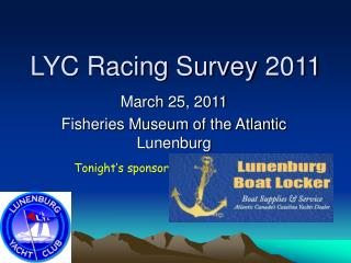 LYC Racing Survey 2011