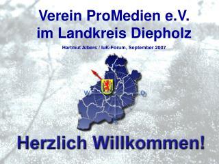 Hartmut Albers, Gesch ftsf hrer ProMedien e.V.