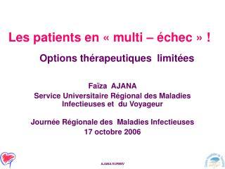 Les patients en   multi    chec