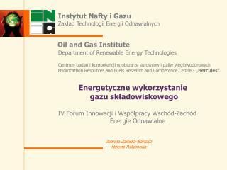 IV Forum Innowacji i Wsp lpracy Wsch d-Zach d Energie Odnawialne