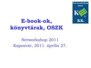 E-book-ok, k nyvt rak, OSZK