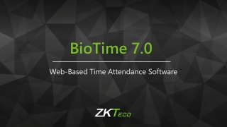 New integrated Attendance Service