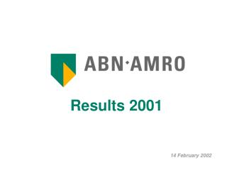 Results 2001