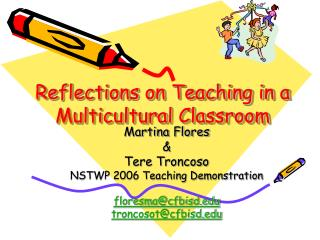 Reflections on Teaching in a Multicultural Classroom