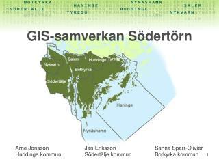 GIS-samverkan S dert rn