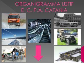 ORGANIGRAMMA USTIF E  C. P.A. CATANIA