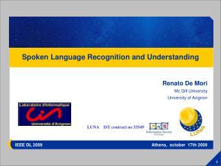 IEEE DL 2009                                                                                            Athens,  october