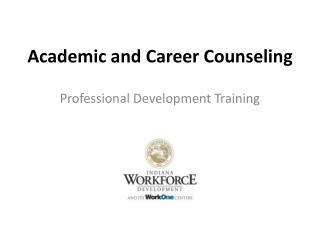 Academic and Career Counseling