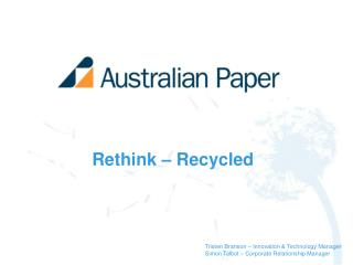 Rethink   Recycled