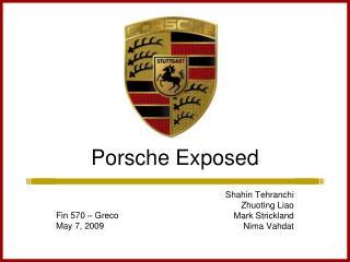 Porsche Exposed