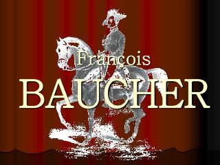 Fran ois BAUCHER