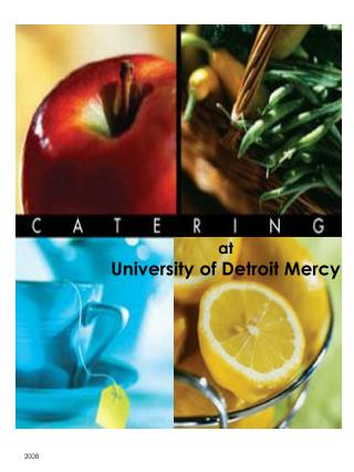 At  University of Detroit Mercy