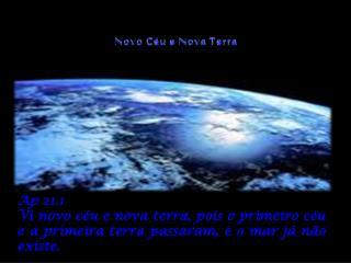Novo C u e Nova Terra