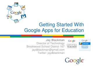 Getting Started With Google Apps for Education