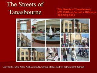The Streets of Tanasbourne