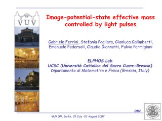 Image-potential-state effective mass controlled by light pulses