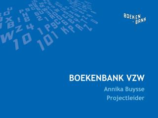 Boekenbank vzw