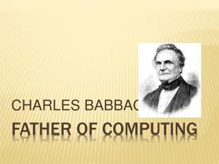 Father of computing