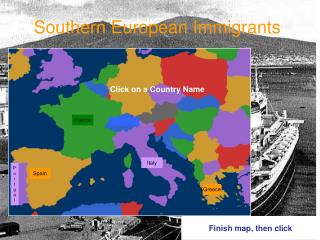Southern European Immigrants