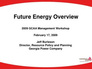 Future Energy Overview
