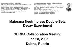 Majorana Neutrinoless Double-Beta Decay Experiment