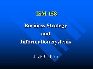 ISM 158