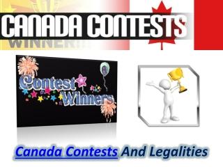 Canada Contests