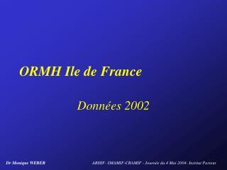 ORMH Ile de France