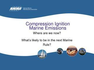 Compression Ignition Marine Emissions