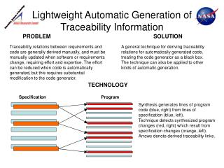 Lightweight Automatic Generation of Traceability Information