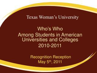 Texas Woman s University