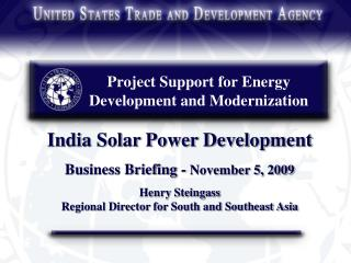 Project Support for Energy Development and Modernization