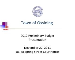 Town of Ossining